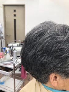 60代以上の女性の耳を出した髪型