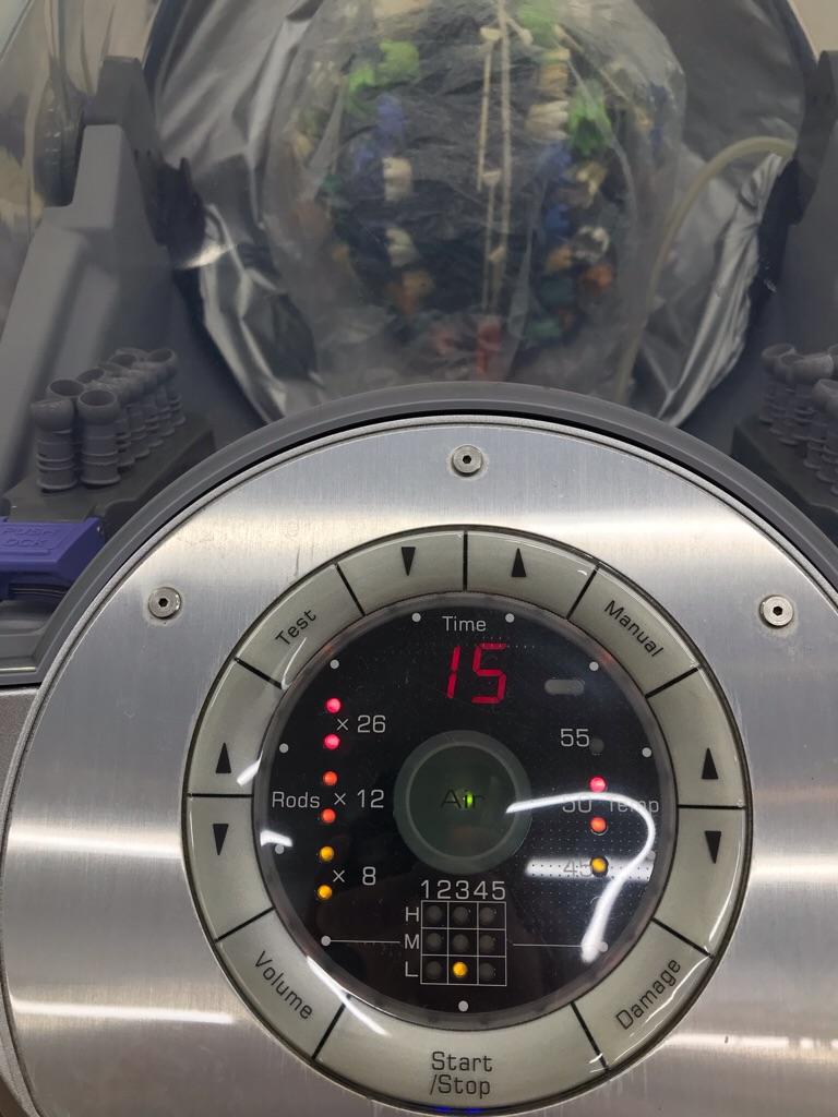 エアウェーブパーマの機械